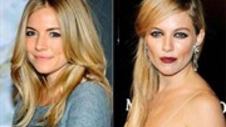Ağır makyajla yaşlanan genç kadınlar!