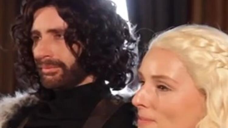 Game of Thrones Temalı Düğün Dünya Gündeminde