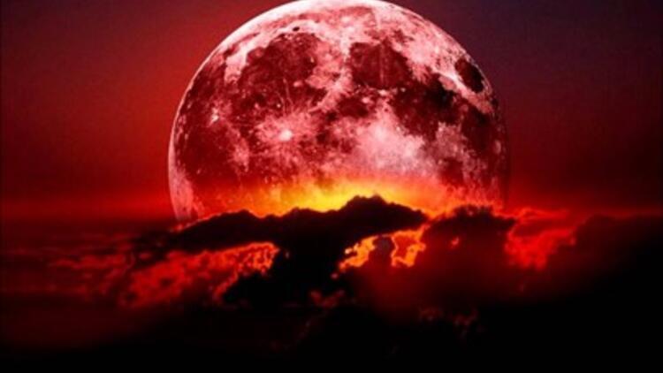 Kova Burcunda Kanlı Ay Tutulması Gerçekleşecek!