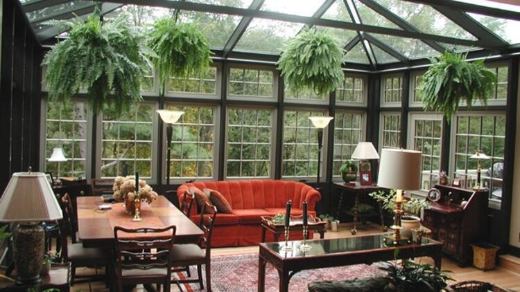 Kışın Keyfini Çıkarmak İçin  Kış Bahçesi Dekorasyonu Önerileri