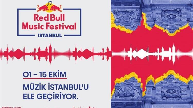 Red Bull Music Festival İstanbul'da Sahne Alacak İsimler Belli Oldu