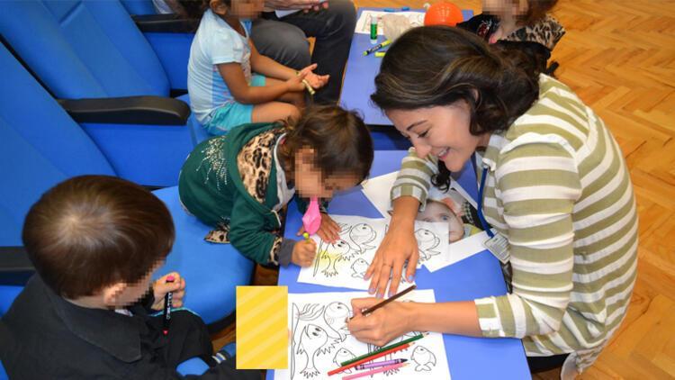 Çocuklar için 'özgür umutlar'