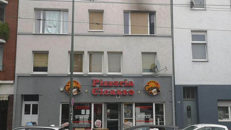 Almanya'da göçmenlerin yaşadığı binada yangın: 1 ölü