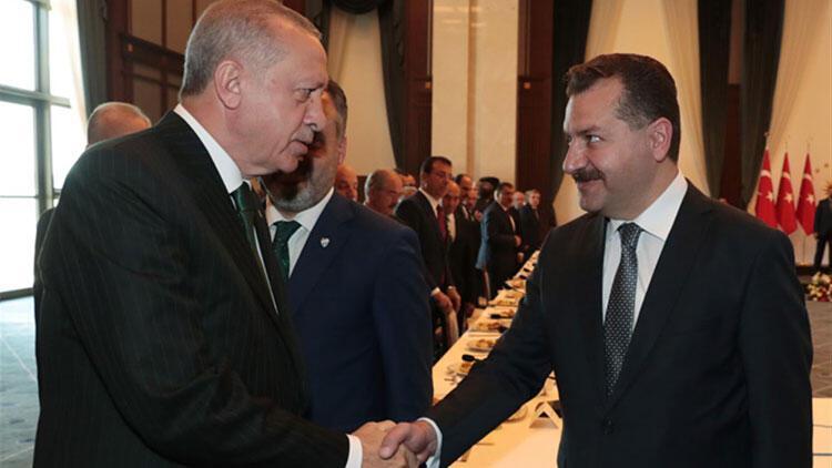 Cumhurbaşkanı Erdoğan'dan Balıkesir Büyükşehir Belediye Başkanı Yılmaz'a görev