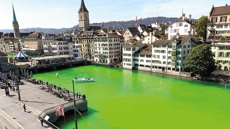 Yeşil protesto