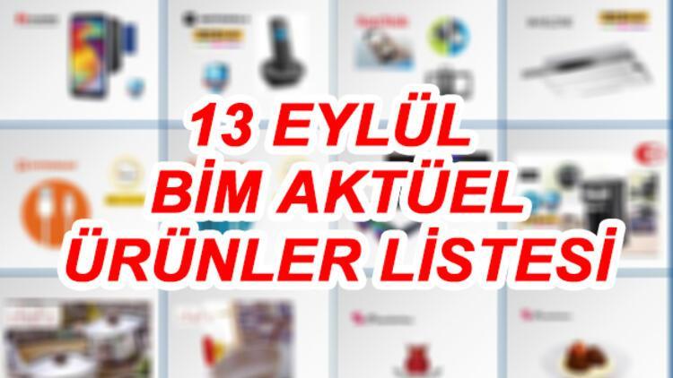 13 Eylül BİM aktüel ürünler katalogu içerisinde buzdolabı ve telefon dikkat çekiyor!