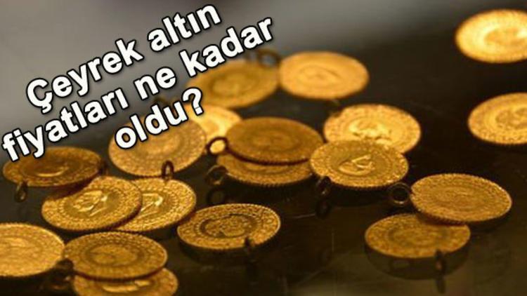 Kapanışta altın fiyatları ne kadar oldu? 12 Eylül anlık çeyrek altın fiyatları