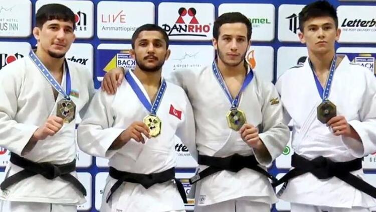 Judoda Salih Yıldız'dan altın madalya