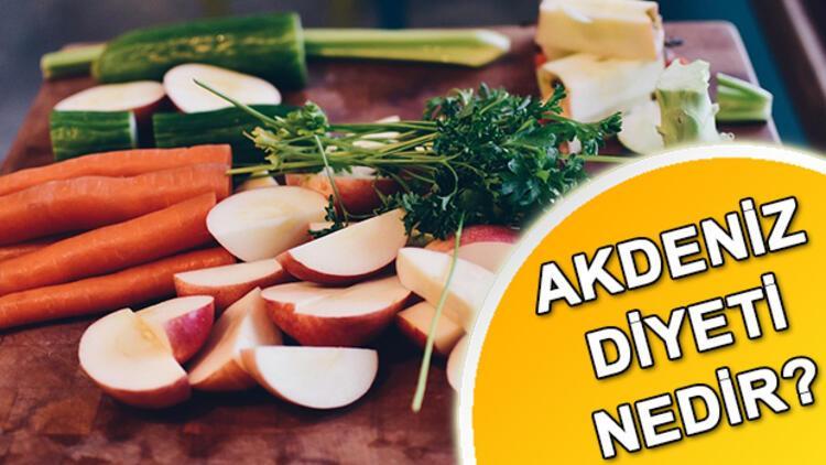 Akdeniz diyeti nedir? Akdeniz diyeti nasıl yapılır?