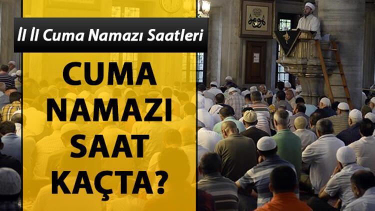 Ankara'da cuma namazı saat kaçta? İşte, il il cuma namazı saatleri