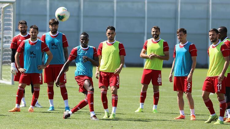 Sivasspor, Başakşehir hazırlıklarını tamamladı!