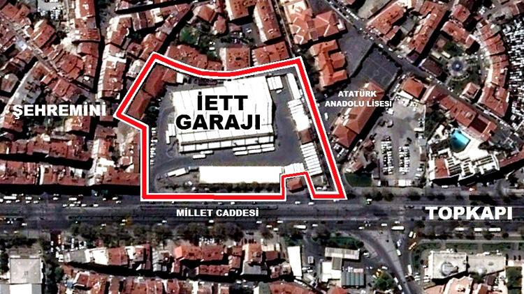 Topkapı İETT Garajı hakkında önemli karar!
