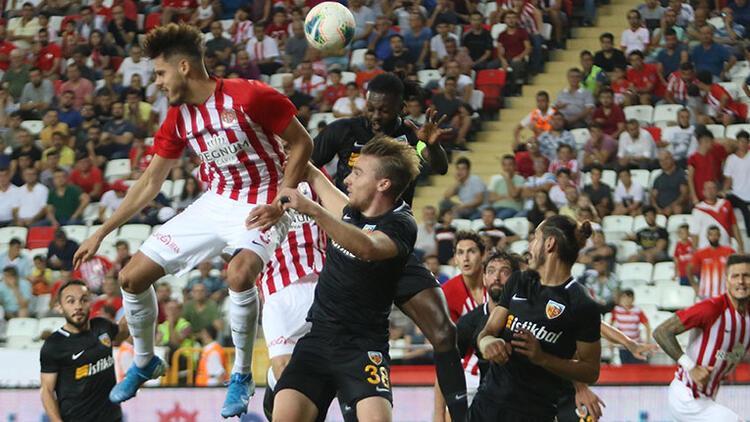 Antalyaspor - Kayserispor: 2-2