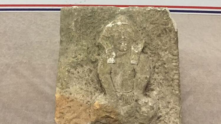 Ordu'da Firavun heykeli ele geçirildi