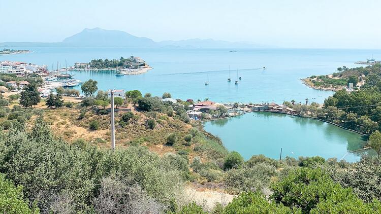 Ege ve Akdeniz'in en sakin yarımadası