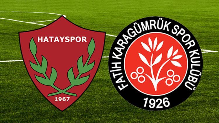 Hatayspor Fatih Karagümrük maçı ne zaman saat kaçta hangi kanalda?