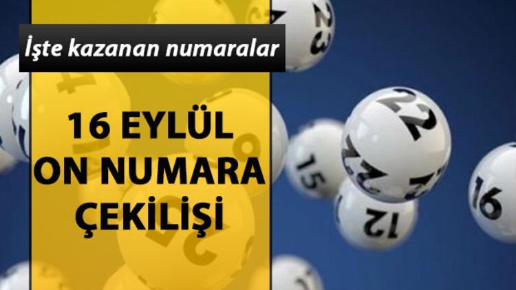 On Numara'da 129 bin TL sahibini buldu! 16 Eylül MPİ On Numara çekiliş sonuçları
