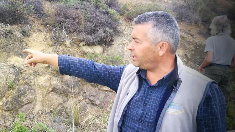 Arazisindeki kayalıklarda keşfetti: 'Hele bir tane buldum ki...'