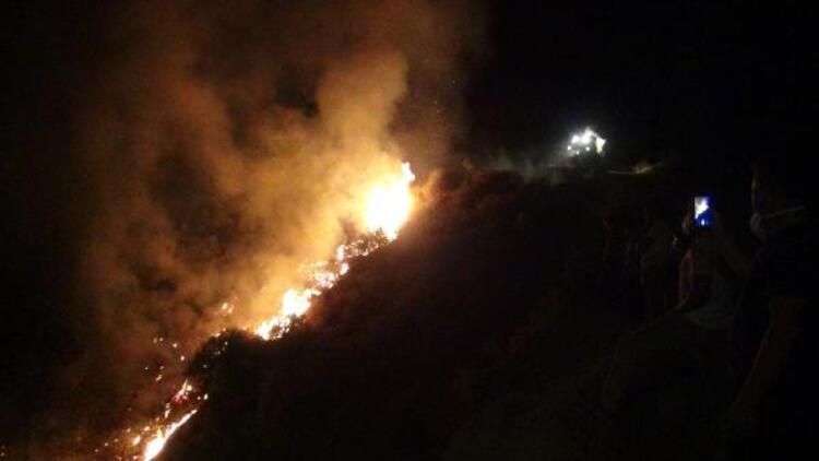 Hatay'daki orman yangını 13 saat sonra söndürüldü