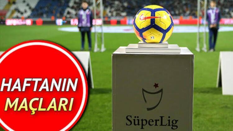 Süper Lig'de bu hafta hangi maçlar var? Süper Lig 5. hafta maç programı