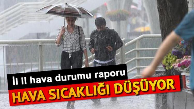 Marmara'da hava sıcaklığı azalıyor... Meteoroloji 19 Eylül hava durumu tahminlerini paylaştı