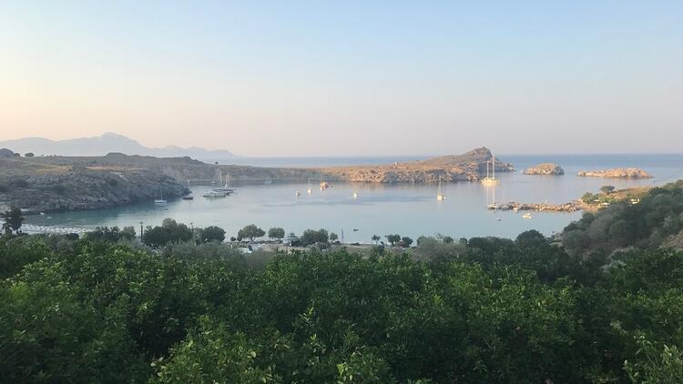 'Şövalyelerin Adası'nda kalabalıktan uzak hafta sonu tatili