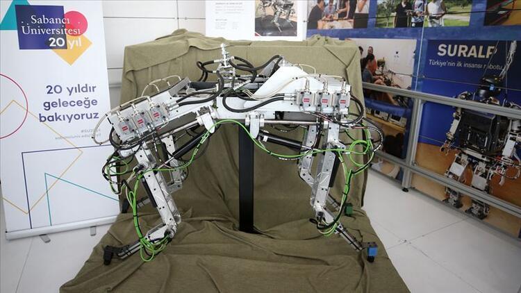 Dört bacaklı 'kangal' robot görücüye çıktı