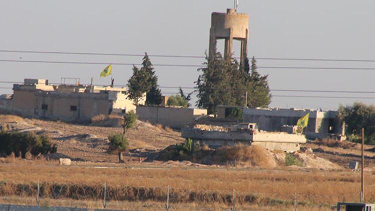 Terör örgütü YPG/PKK'nın  sözde 'bayrak' oyunu