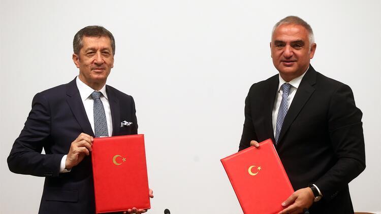 MEB'den Kültür ve Turizm Bakanlığı ile turizm işbirliği