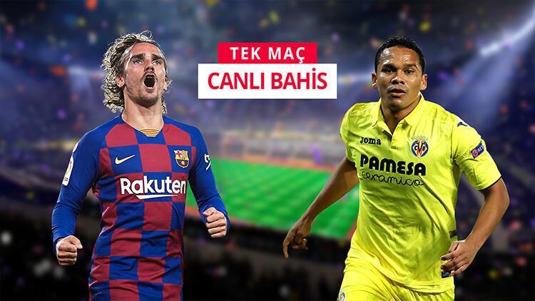 """""""Barcelona - Villarreal"""" maçına sürpriz iddaa tercihi! İlk yarıdaki gol sayısı..."""