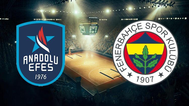 Anadolu Efes ile Fenerbahçe  Cumhurbaşkanlığı Kupası için karşı karşıya