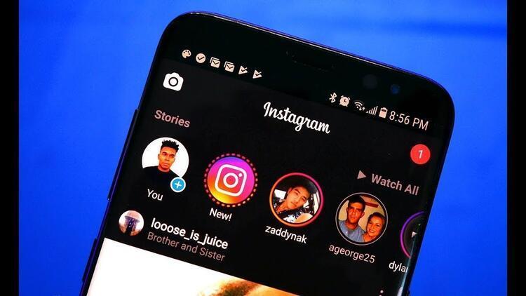 Instagram'da karanlık mod (gece modu) uygulaması İOS kullanıcılarını çıldırttı!