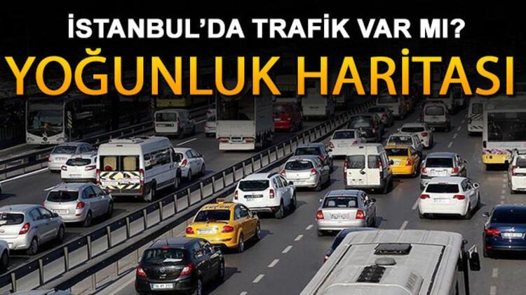 İstanbul'da trafik var mı? İşte deprem sonrası yol durumunda trafik yoğunluğu