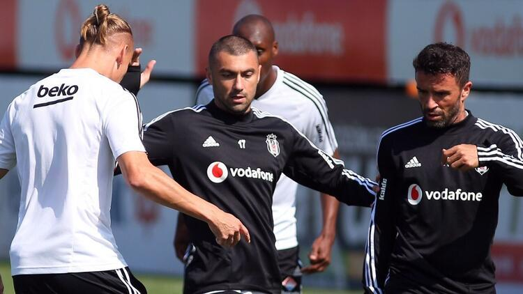 Beşiktaş, Trabzonspor hazırlıklarını sürdürdü! Victor Ruiz katılmadı...