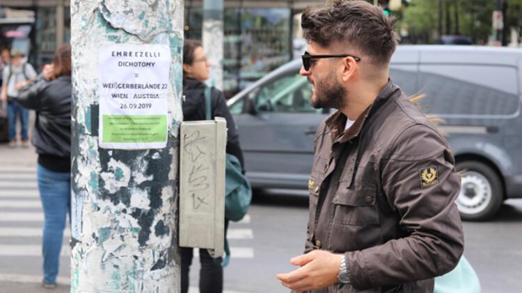 Hürriyet Çocuk Kulübü üyesi , Viyana'da 'Dichotomy' sergisi açtı