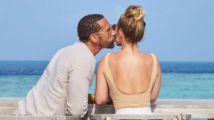 Rio Ferdinand ile Kate Wright, Marmaris'te evlendi!