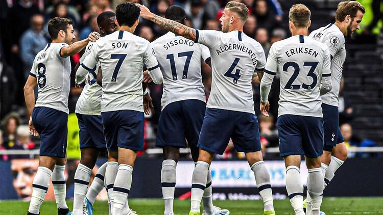 Tottenham, 10 kişi kaldığı maçta galibiyeti aldı