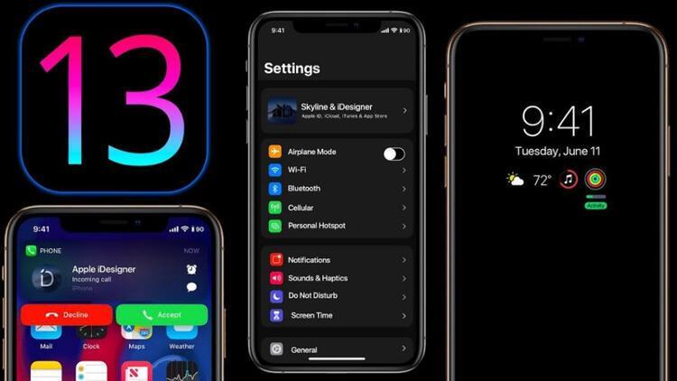 iOS 13 güncellemelerinin ardı arkası kesilmiyor