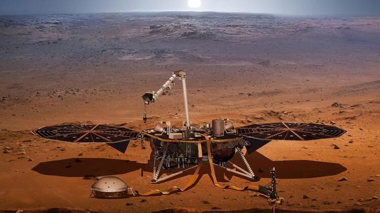 Mars'ın sırrı çözülüyor, sesler kayıt altına alınıyor