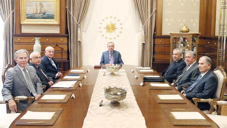 YİK'ten Erdoğan'la ilk toplantı