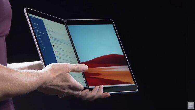 Microsoft Surface Neo: İki ekranlı tablet tanıtıldı