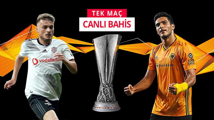 Wolves, İstanbul'a rotasyonlu geldi! Beşiktaş'ın galibiyetine iddaa'da...