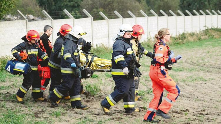 Madende deprem göçüğü: 1 ölü