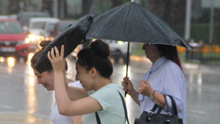 Son dakika: 4 il için kuvvetli yağış uyarısı