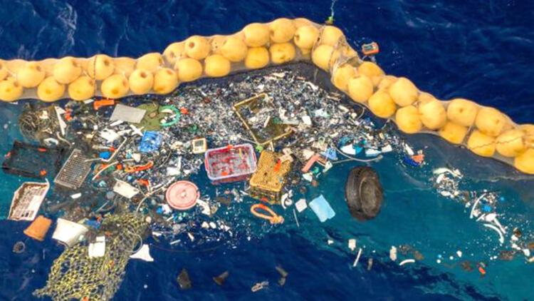 Okyanustan plastik toplama projesinde ilk başarı