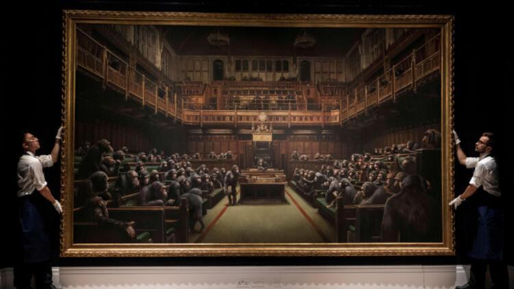 Banksy'ye 70 milyon TL