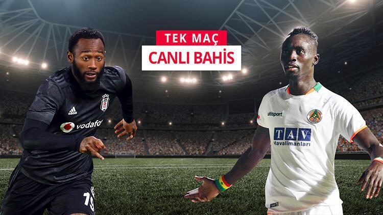Beşiktaş, lider Alanyaspor karşısında çıkış arıyor! iddaa'da maçın favorisi...