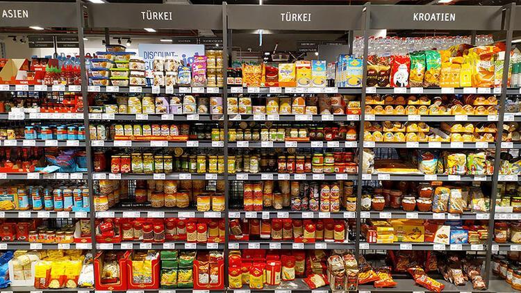 Alman raflarında Türk ürünlerinin yeri genişliyor