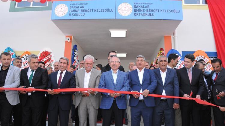 Mardin'in sınır köyüne 9 derslikli okul