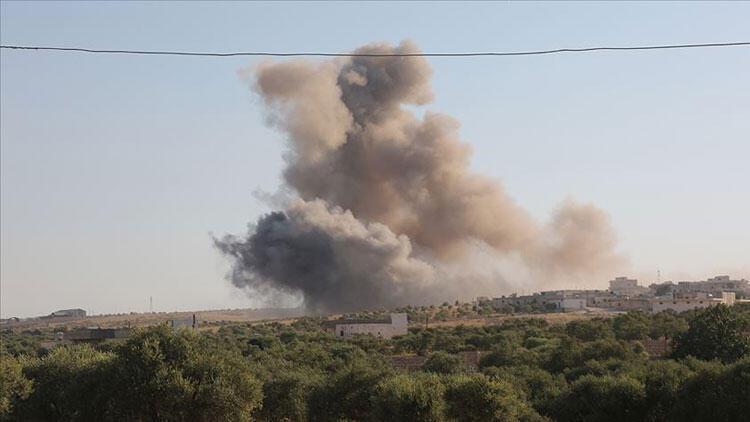 YPG/PKK'dan Afrin'e topçu saldırısı: 2 yaralı